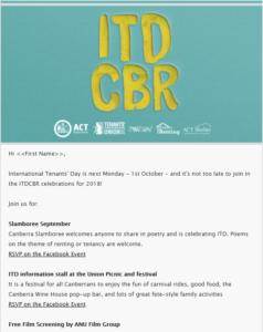 Tenants' News 3rd special edition - ITDCBR