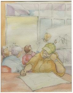 Artful Renters - Joan Hulmes (First Prize)