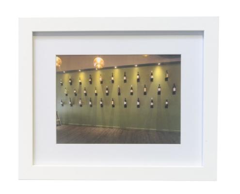 Carmen Carlon - Wine Bottles on the Wall